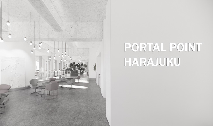 PORTAL POINT HARAJUKU ラウンジイメージ
