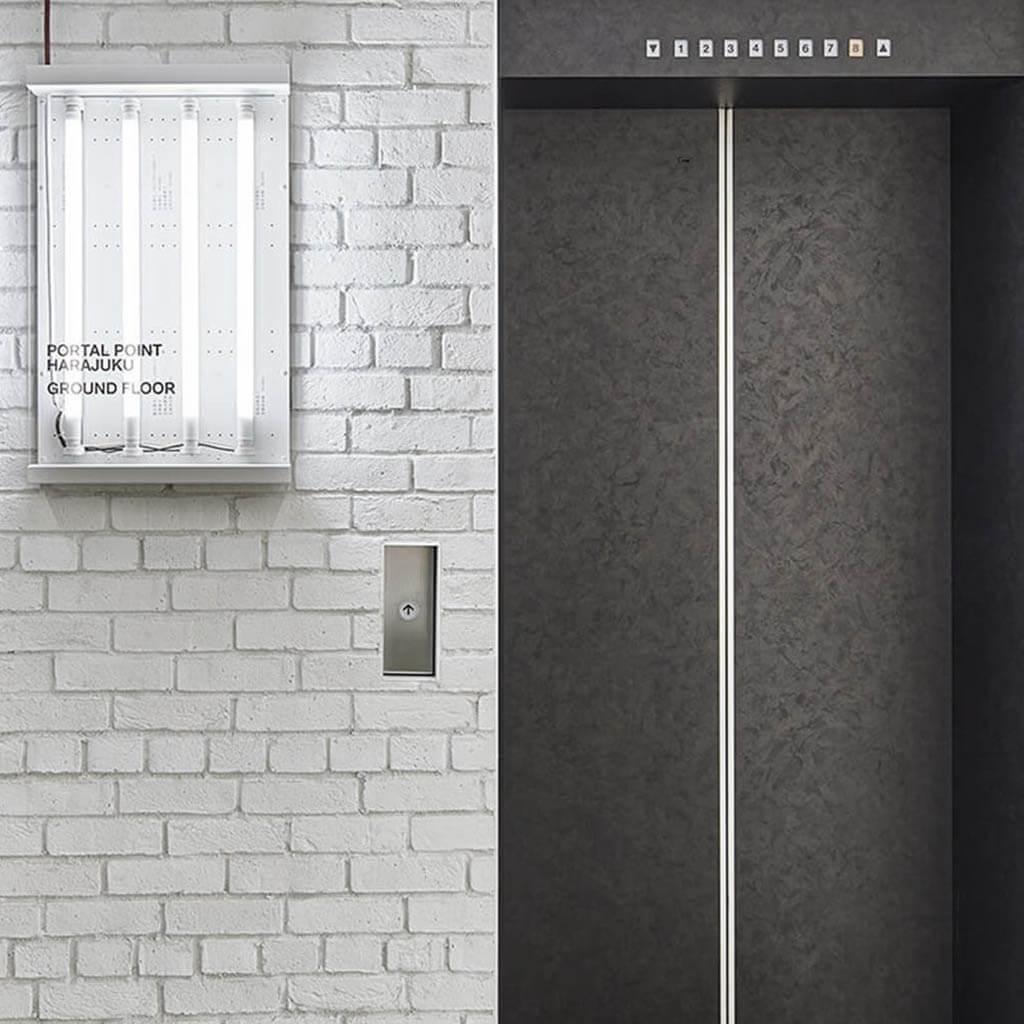PORTAL POINT HARAJUKU エレベーター